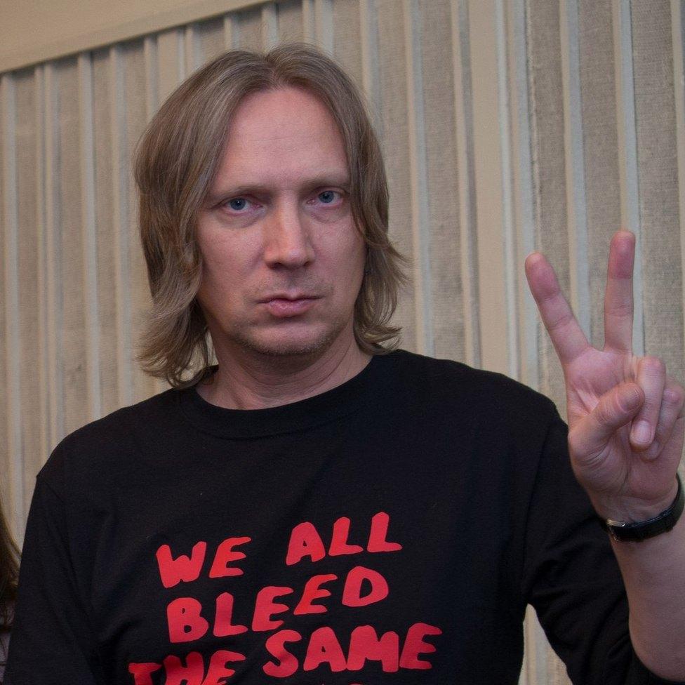Песни Вадима Курылёва признаны экстремистскими