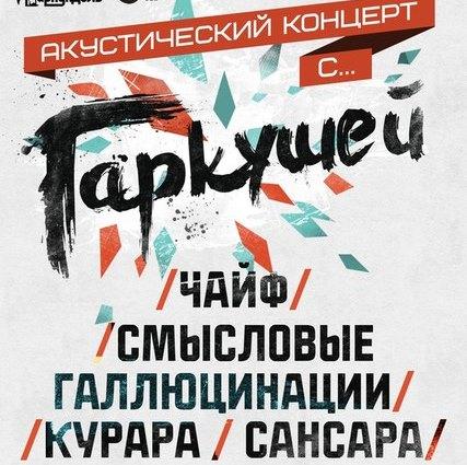 """Трансляция """"Акустического концерта с Гаркушей"""""""