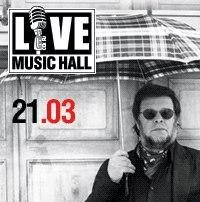 """Концерт группы Аквариум в """"Live Music Hall"""" 21 марта!"""