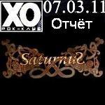 Отчёт и фотоотчёт о концерте группы Saturnus 7 марта в клубе ХО