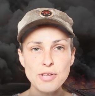 Чичерина сняла клип о Донбассе