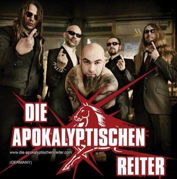 """Die Apokalyptischen Reiter в клубе """"Точка"""""""