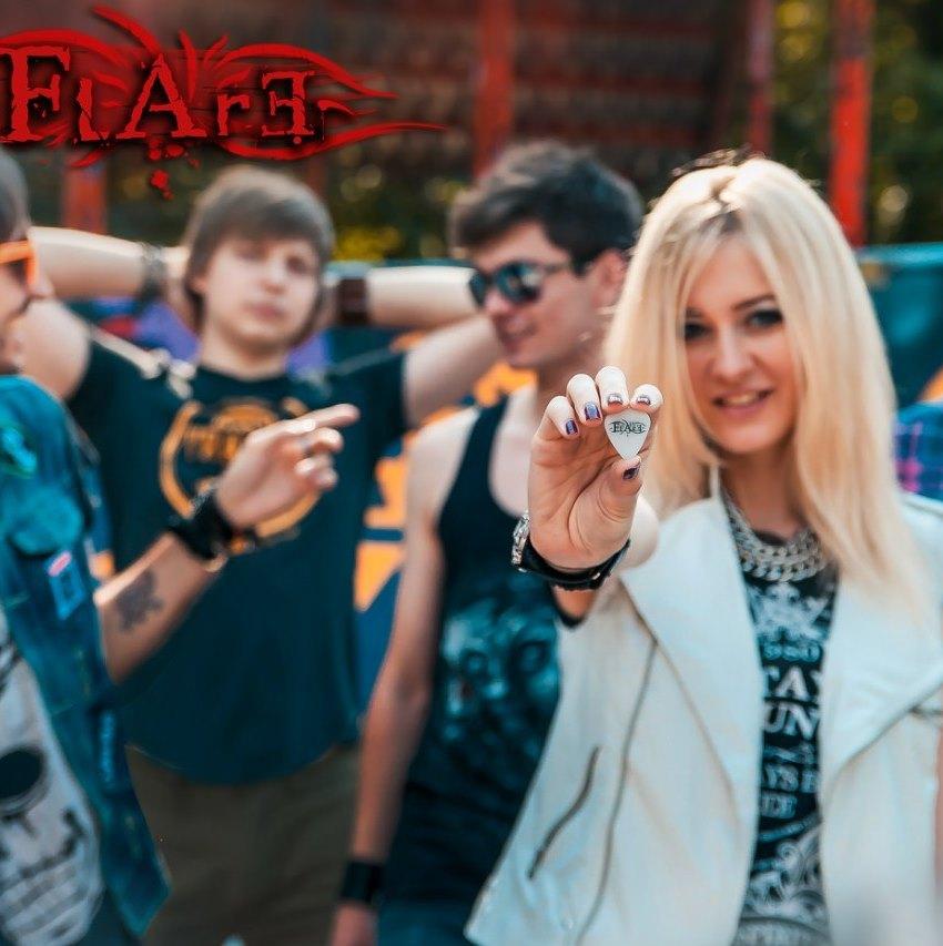 Интервью с front woman московской рок-группы FLARE Марией Рыбальченко